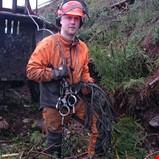 Utfordrende skogrydding for linjeprosjekt