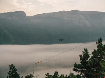 Dronebefaring