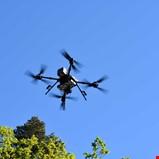 Dronebefaring av strømnettet