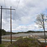 Arbeidet med nye kraftlinjer til batterifabrikken i rute
