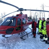 Helikopter og digitale verktøy effektiviserer feilrettingen