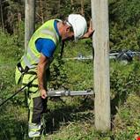 Tilstandskontroll av strømnettet på Agder