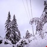 Strømbrudd på grunn av snø